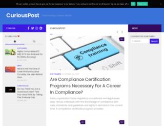 curiouspost.com screenshot