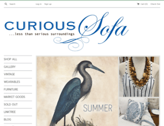 curioussofa.com screenshot