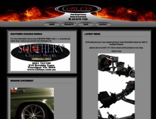 curleys.com.au screenshot