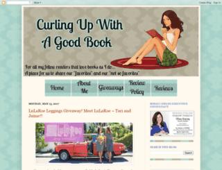 curling-up-with-a-good-book.blogspot.com screenshot