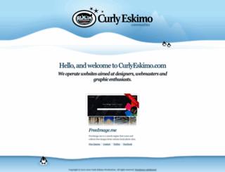 curlyeskimo.com screenshot