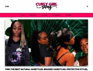 curlygirlswag.com screenshot