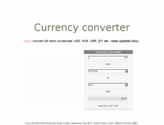 currency-converter-app.appspot.com screenshot