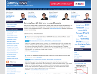 currencynews.co.uk screenshot