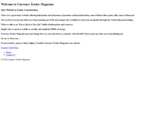 currencytradermag.com screenshot