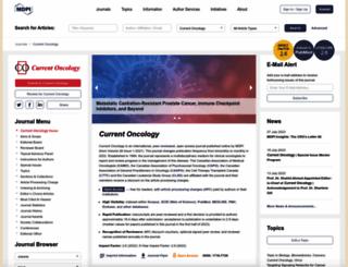 current-oncology.com screenshot