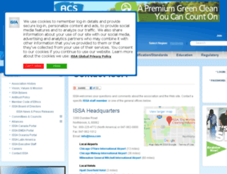 current.issa.com screenshot