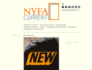 current.nyfa.org screenshot