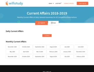 currentaffairs.wifistudy.com screenshot