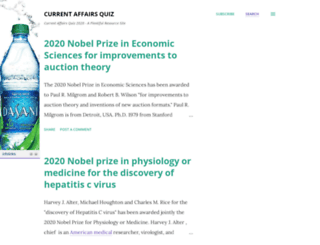 currentaffairsquiz.com screenshot