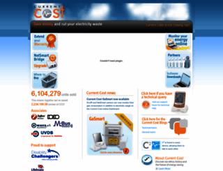 currentcost.com screenshot