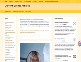 currenteventsarticles.org screenshot