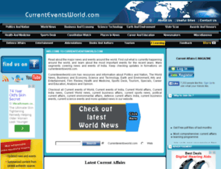currenteventsworld.com screenshot