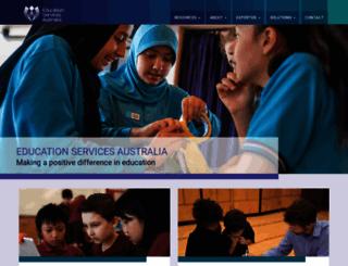 curriculum.edu.au screenshot