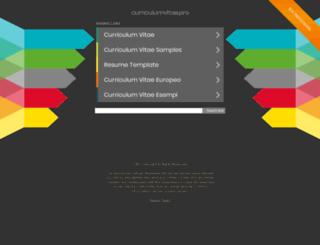 curriculumvitae.pro screenshot