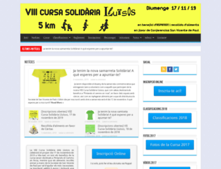 cursasolidaria.lluisosvila-real.org screenshot