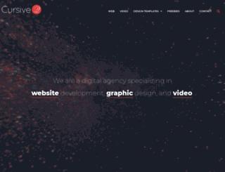 cursiveq.com screenshot