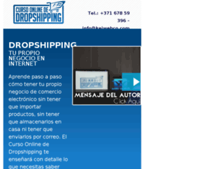 cursodedropshipping.net screenshot