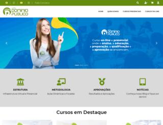 cursodominiopublico.com.br screenshot