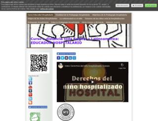 cursoeducadorhospitalario.jimdo.com screenshot