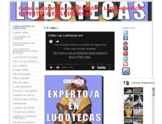 cursoexpertoludotecas.jimdo.com screenshot