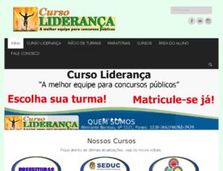 cursolideranca.com.br screenshot