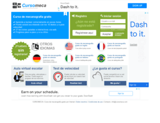 cursomeca.com screenshot