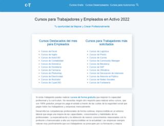cursos-trabajadores.net screenshot