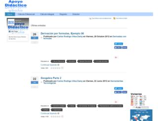 cursos.apoyodidactico.com screenshot