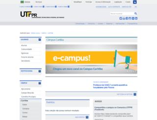 cursos.cefetpr.br screenshot