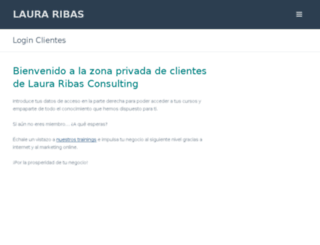 cursos.lauraribas.com screenshot