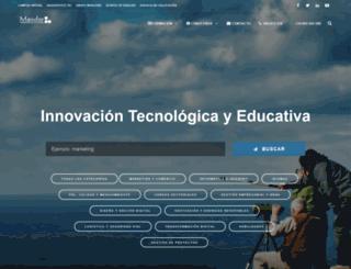 cursos.mainfor.edu.es screenshot