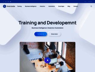 cursos.portal-gestao.com screenshot