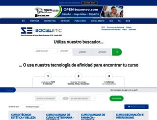 cursos.socialetic.com screenshot