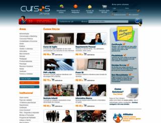 cursos24horas.com.br screenshot