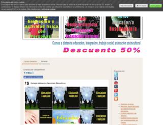 cursosbaratos.jimdo.com screenshot