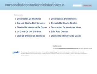 cursosdedecoraciondeinteriores.net screenshot