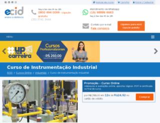 cursosdeinstrumentacao.com.br screenshot