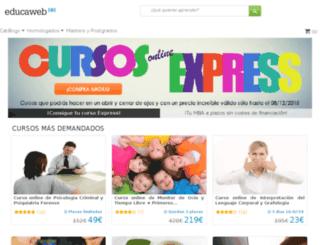 cursosoferta.educaweb.com screenshot