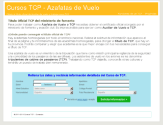 cursostcp.net screenshot