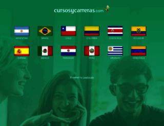 cursosycarreras.com screenshot
