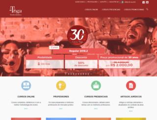 cursotoga.com.br screenshot