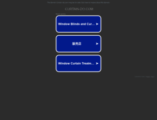 curtain-do.com screenshot