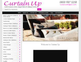 curtain-up.ltd.uk screenshot