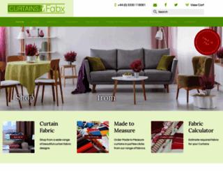 curtainsandfabx.co.uk screenshot