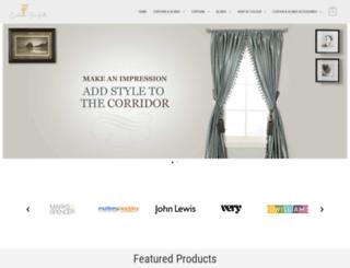 curtainsforkids.co.uk screenshot