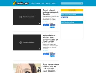 curtir.net screenshot