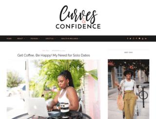 curvesandconfidence.com screenshot