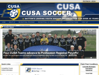cusacrewjuniors.org screenshot