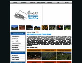 cuscotoursguide.com screenshot